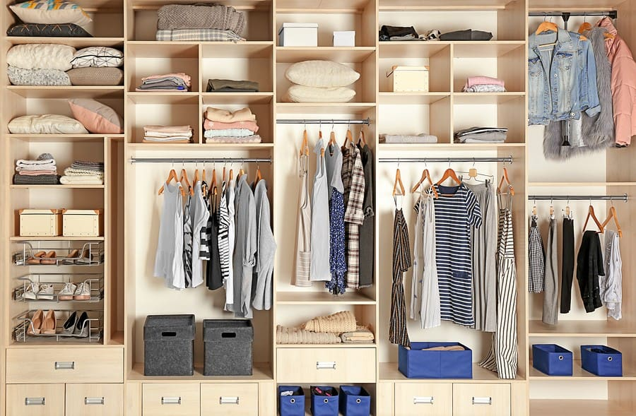 large wardrobe design