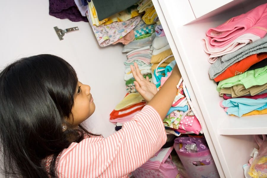 Customized Closets to Keep Kids Organized 2