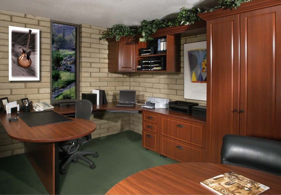 home office design and organization