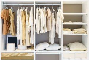 Reach In Closet Design In Great Falls Va