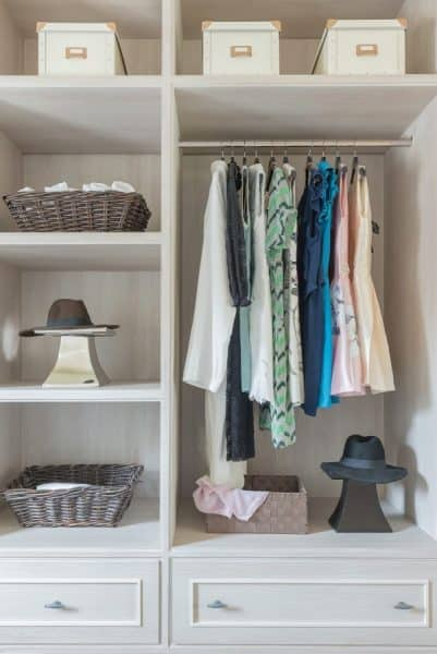 walk-in closets design in burke va