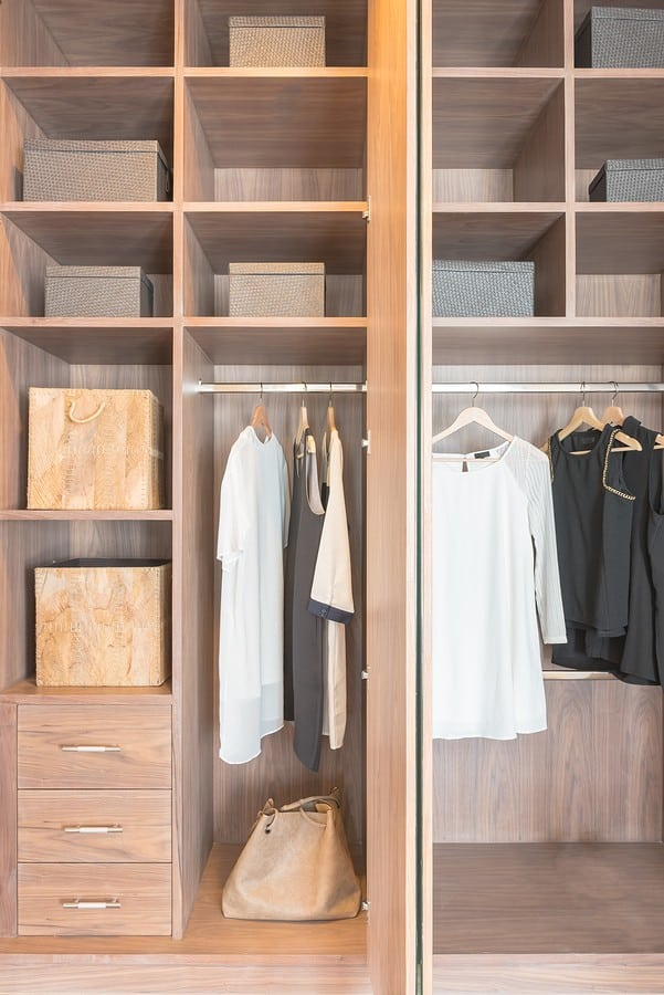 walk-in closets design in McLean