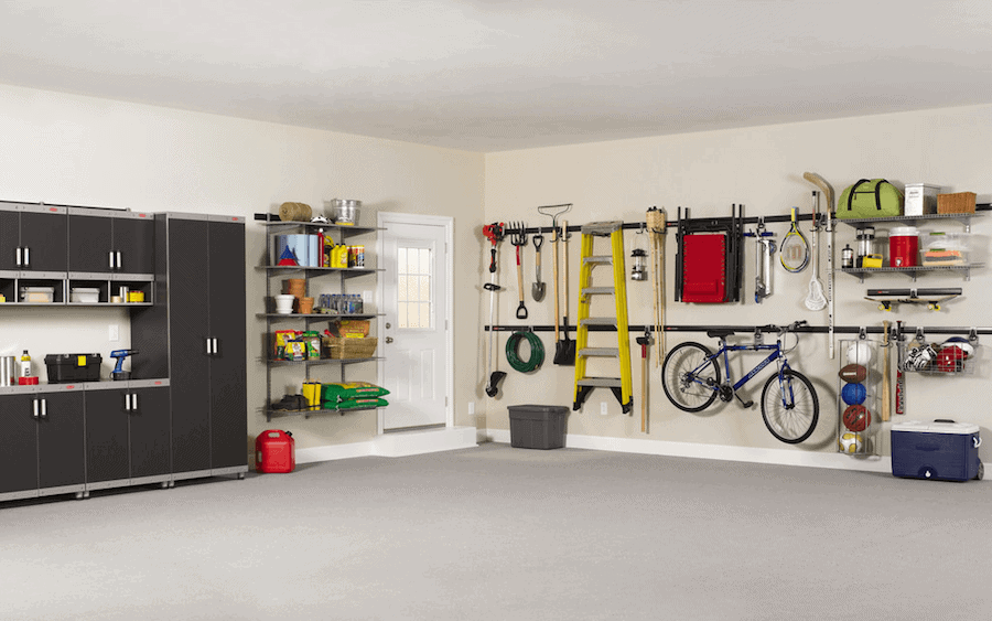 plan to organize garage