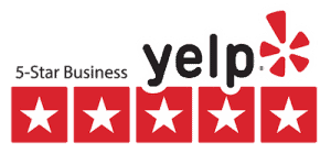 yelp five stars icon