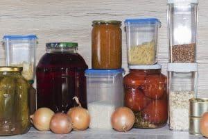 pantry cupboard organization