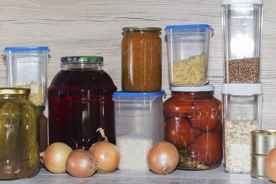 pantry cupboard organization