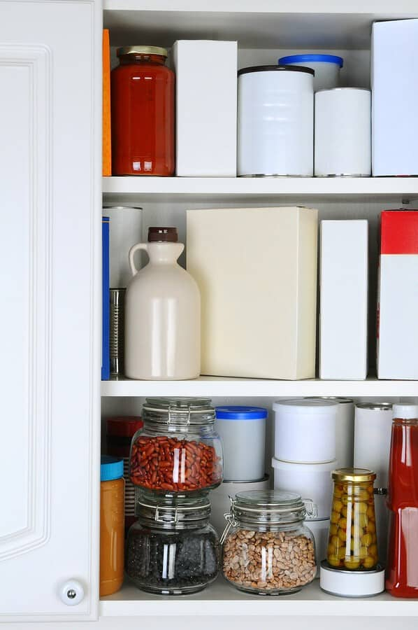 pantry food cupboard