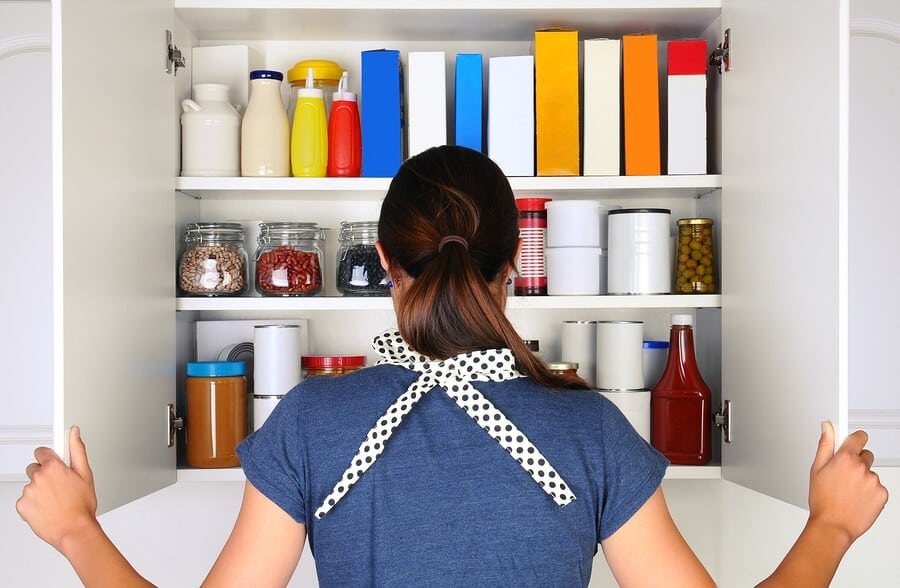 tips to organize pantry