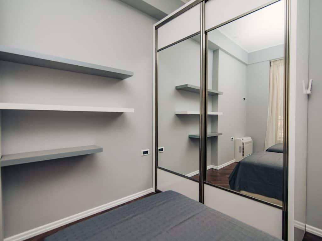 bedroom mirrors with closet