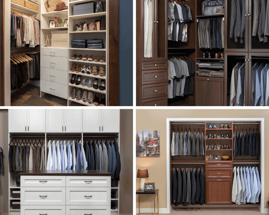 Stunning walk in closets designs for both large small - Pictures of walk in closets ...