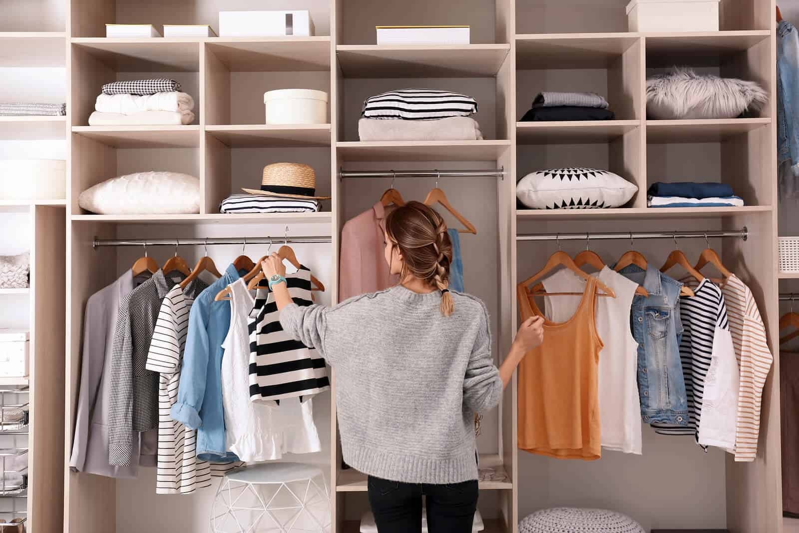 reach-in closet design trends
