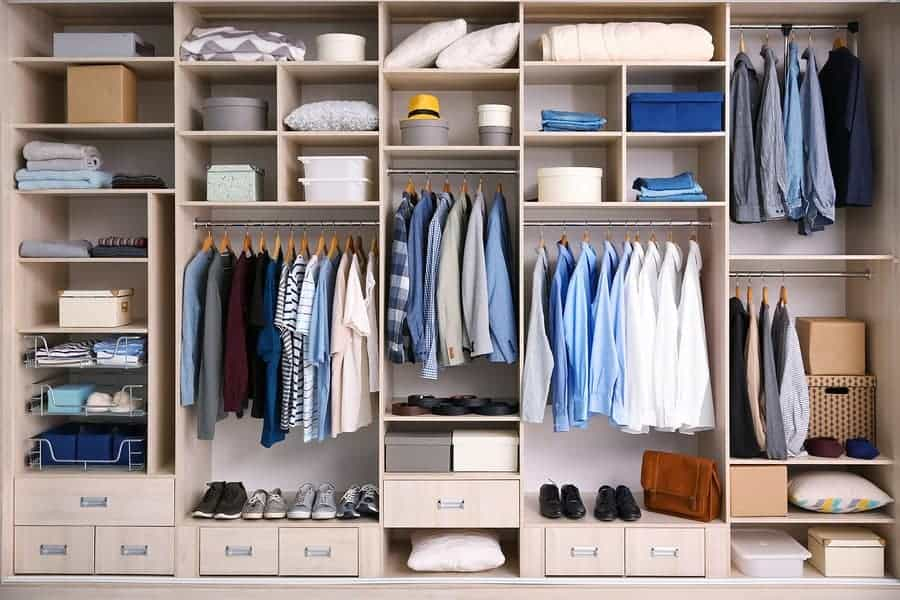 custom closets design in burke