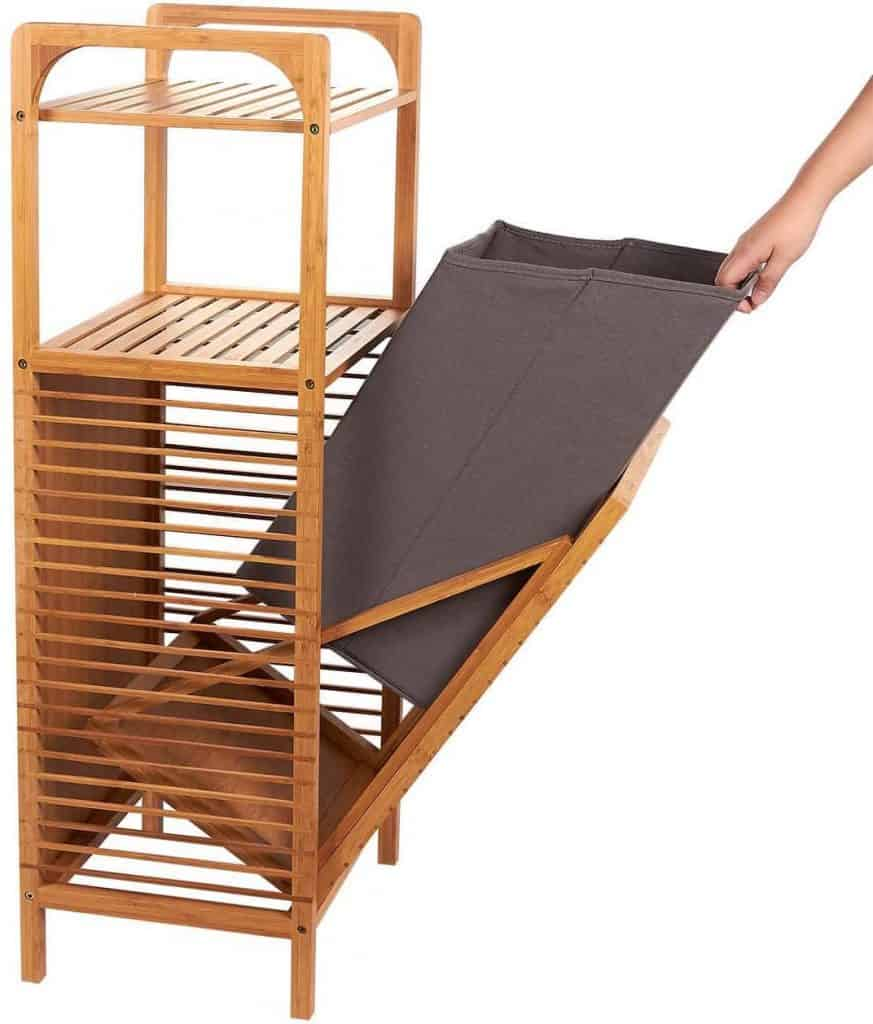 laundry hampers for closet organization