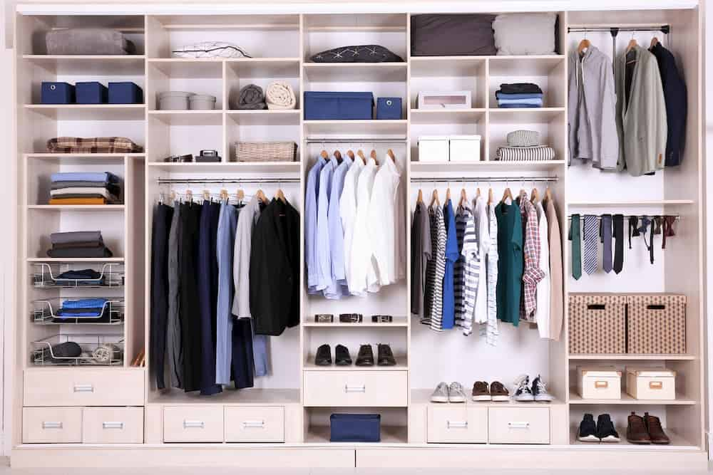 custom closet for your climate