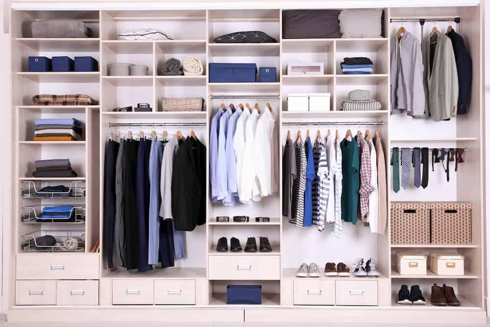 custom closet for your climate