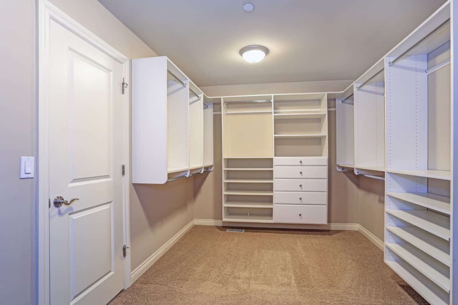 custom closet design bare design no clothes